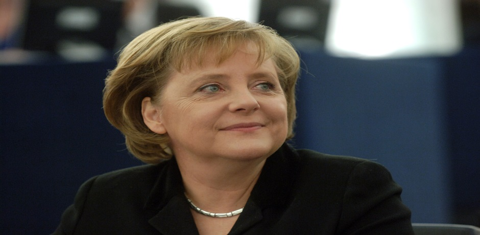 Merkel Makes German IT Ambitions Known