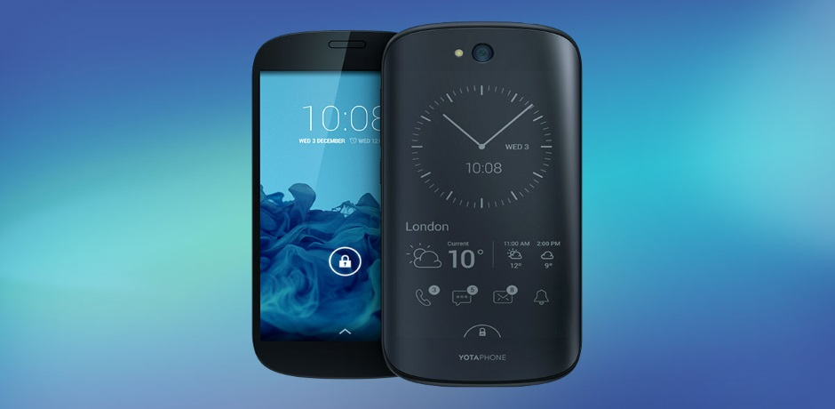 YotaPhone 2- The Dual Screen Phenom