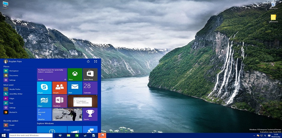 Windows 10 vs. Windows 8